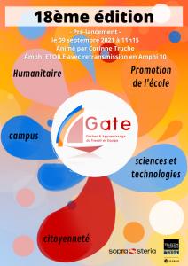 Prélancement GATE® 2021